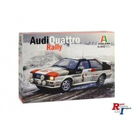 3642 1/24 Audi Quattro Rally