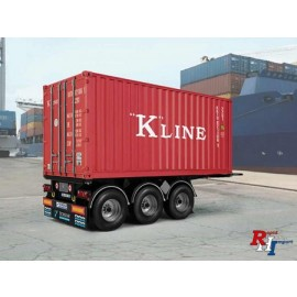 3887 1/24 20' Container Trailer