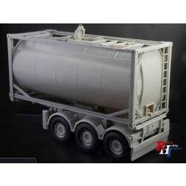3929 1/24 Tecnokar Trailer w/20ft Tank