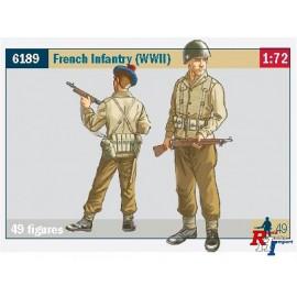 6189 1/72 French Infantry (WW II)