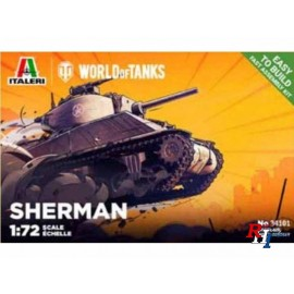 34101 1/72 SHerman WoT Fast Assembly Kit