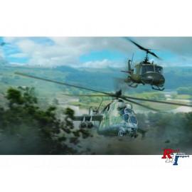 35103 1/72 UH-1C MIL Mi-24D