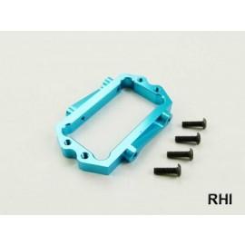 DT03 Alu servohouder blauw (1)