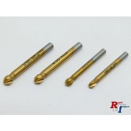 Senker HSS-Tin DIN 335C 6,3mm