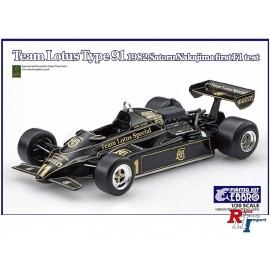 20021 1:20 Team Lotus Type 91 F1