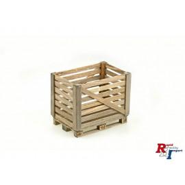 1/14 Houten box op euro-pallet