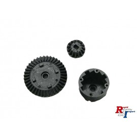 10444412 DIFF HOUSING SET(BLACK) : 47382