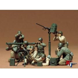 35086,1/35 US Gun + Mortar Team(8)