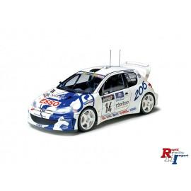 24221 1:24 Peugot 206 WRC