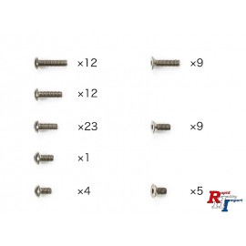 47449 TC-01 Titanium Screw Set (76)