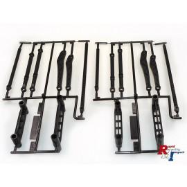 51634 RC CC-02 J Parts (Body Mounts) 2PC