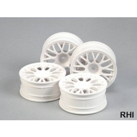 53468,1/10 Mesh Spoke Wheel white