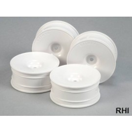 53473, 1/10 Dish-Wheels white 24mm (4)