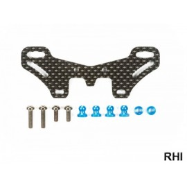 54633, TT-02S Carbon Rear Damper Stay