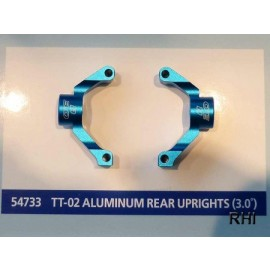 54733, RC TT02 Alum Rear Uprights - 3.0
