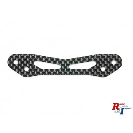 54814 TT-02 Carbon Bumper Support