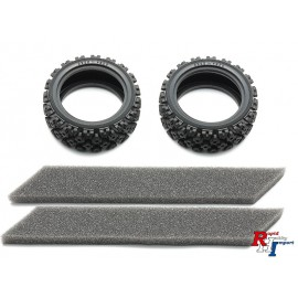54861 26mm Rally Block Tires Soft/2Pcs