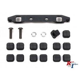 54967 TT-02S Steel Adjust SusMt Rear